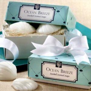 Ocean Breeze Scented Seashell Soap